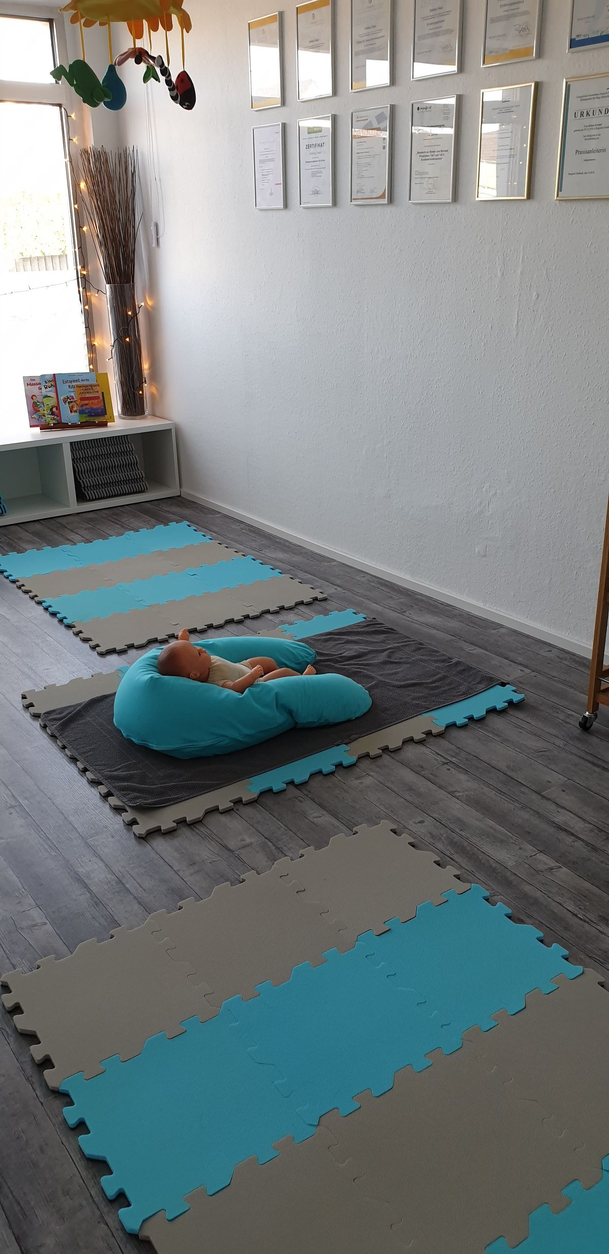 intensiver Babymassage-Kurs in Kleingruppe